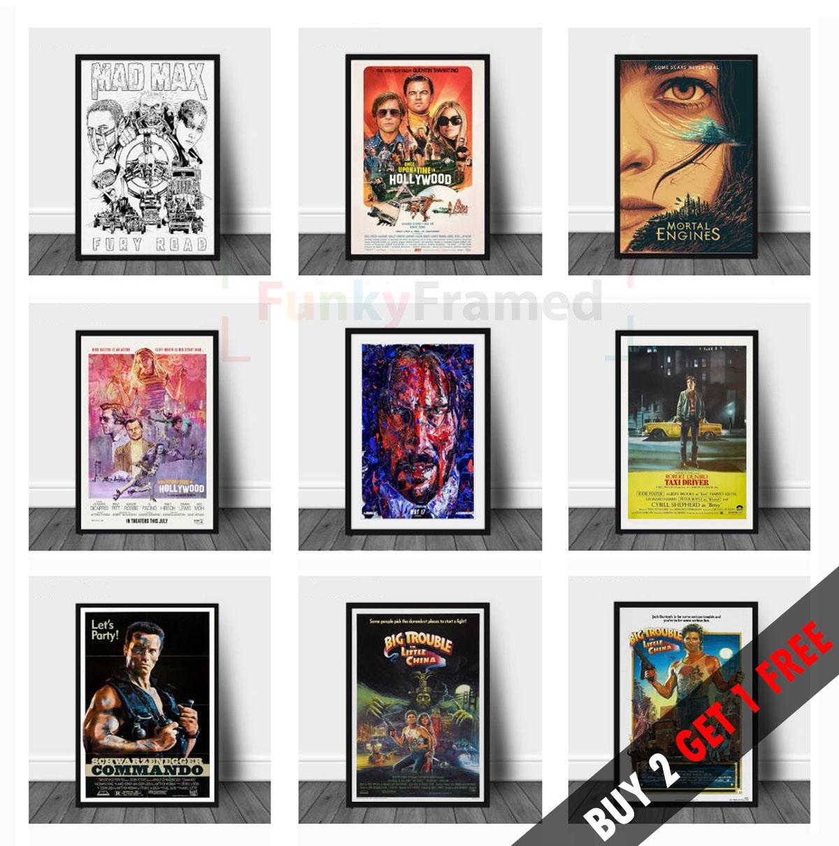 THE BOSS BABY POSTER FILM A4 A3 CINEMA MOVIE PRINT ART